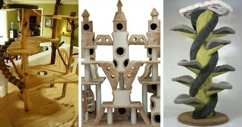 If You Have An Indoor Cat, Then You Need To Check Out These Twelve Totally  Amazing Cat Trees U2013 One Might Be Perfect For Your House.