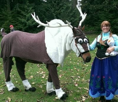 Equinely spooky 25 best horse halloween costumes horse crazy girls solutioingenieria Image collections