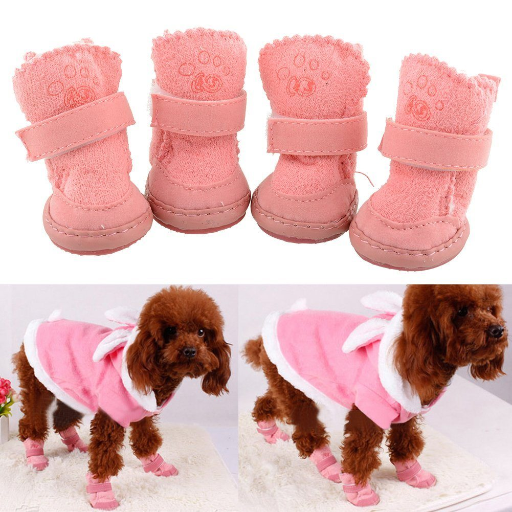 Small Dog Boots For Winter