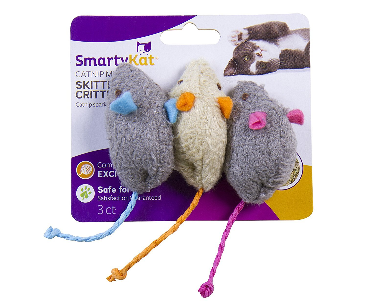 catnip mice toys