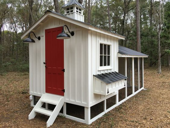 8 diy cute and functional small chicken coop plans for Cute chicken coop ideas