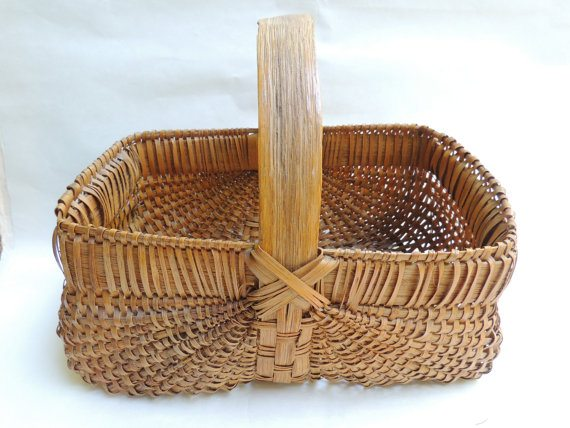traditional egg basket