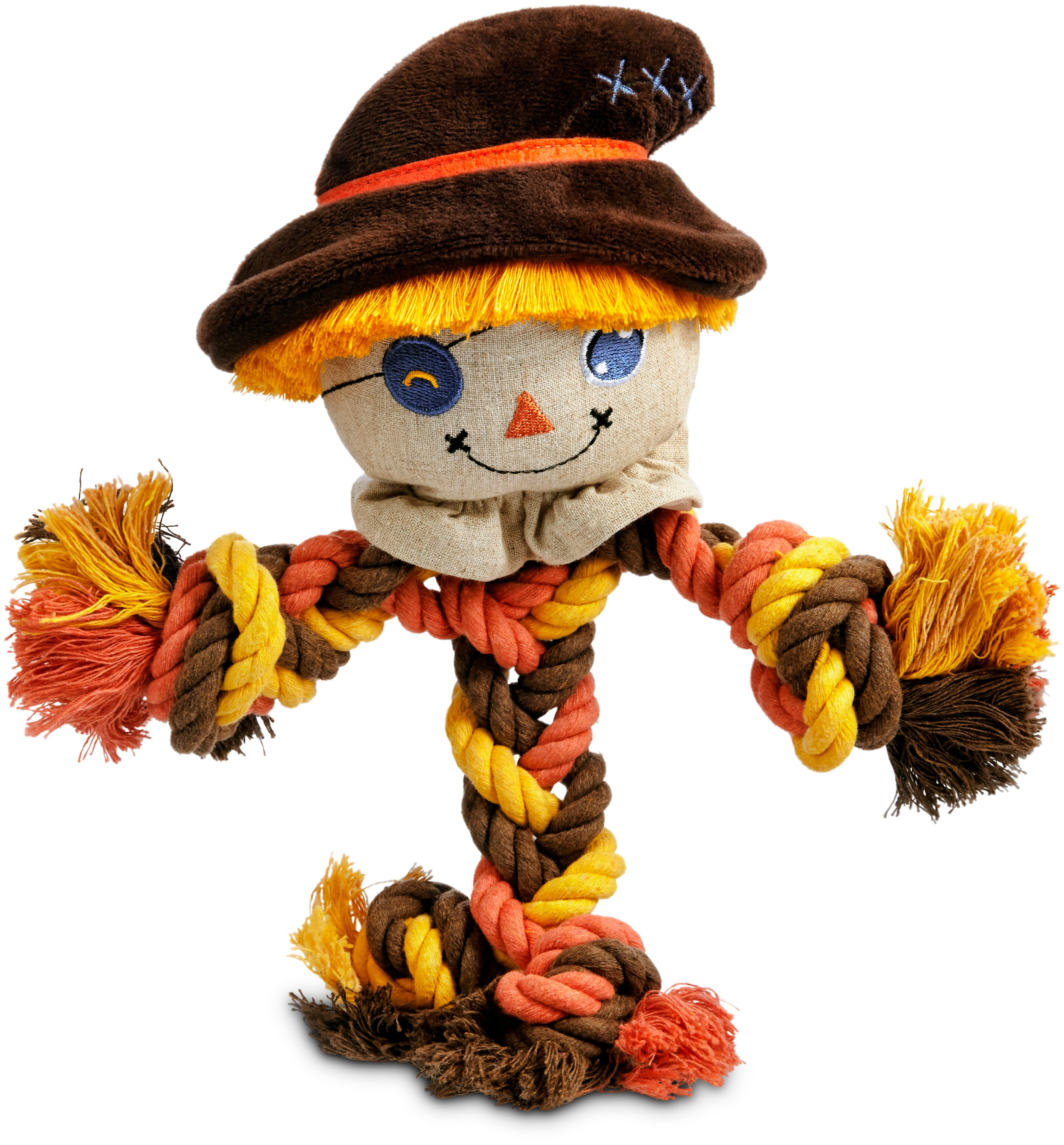 Dog Scarecrow Rope Toy $12.99