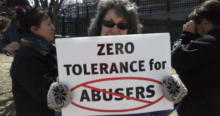 zero tolerance for abusers