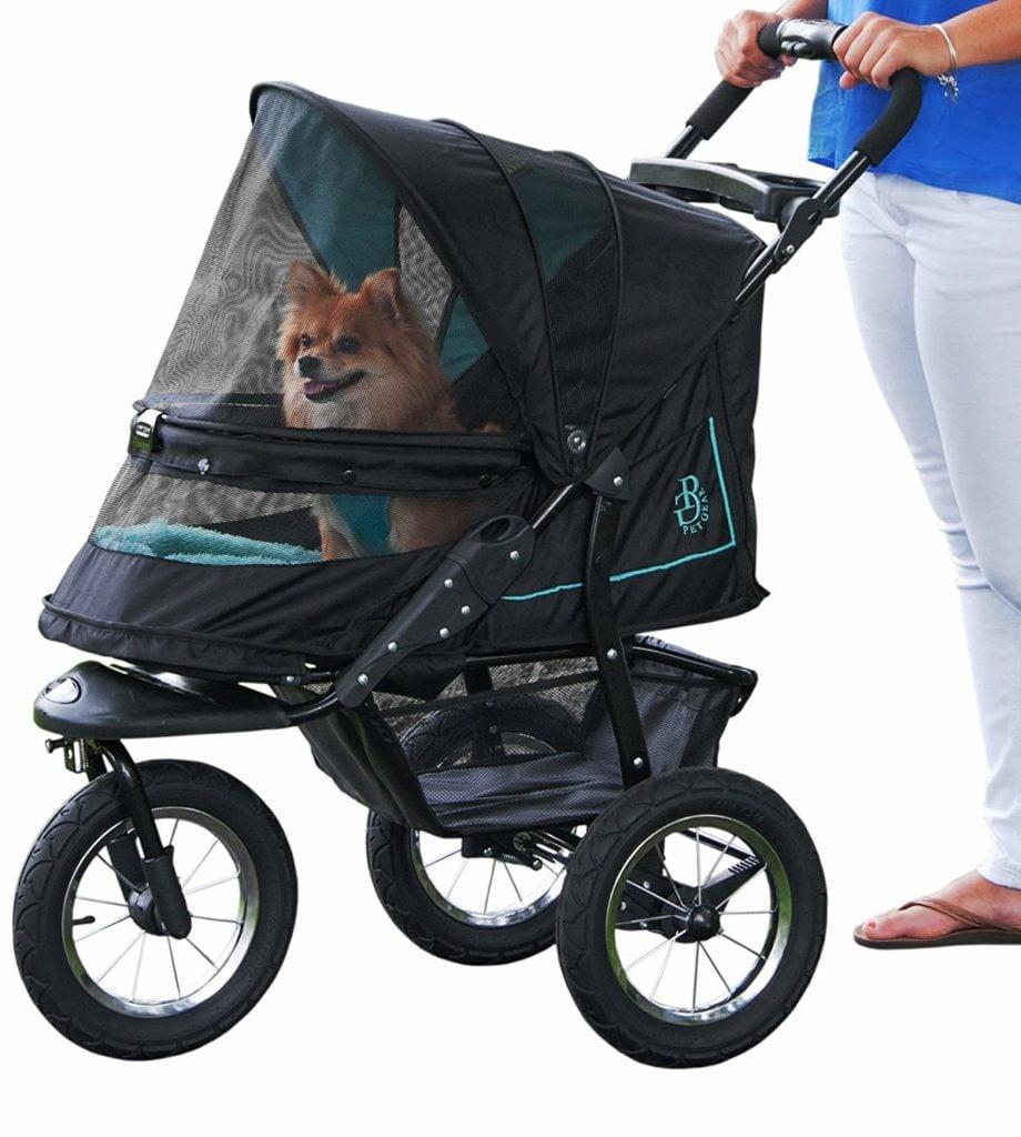 Pet gear stroller