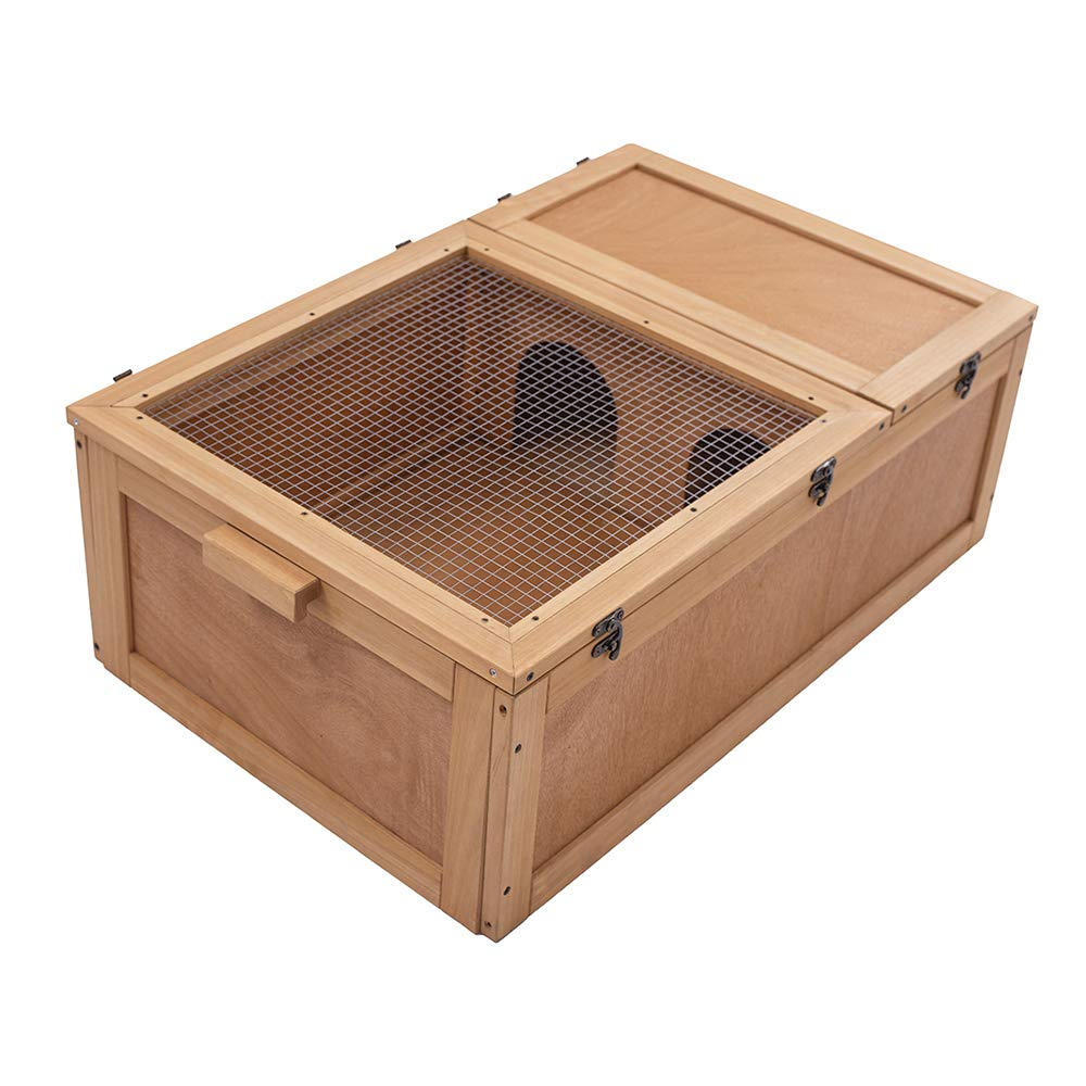 wood turtle box