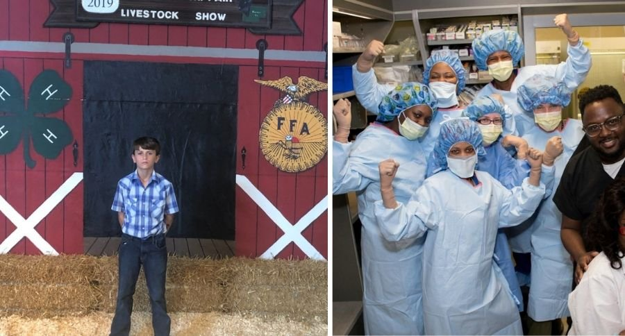 Our Hero: 7th Grader Donates County Fair Livestock Winnings of $15,000 to St. Jude