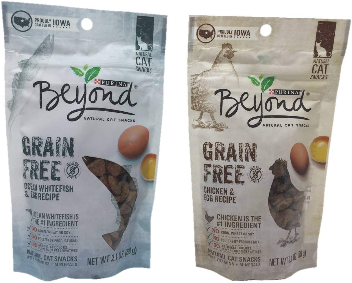 Purina Beyond Grain Free Natural Cat Snacks
